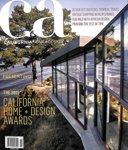 California Home + Design Spring 2015 - cover